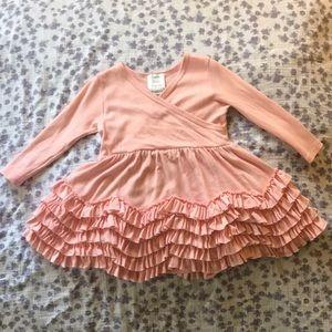 Lemon loves layette / 12-18M Pink dress EUC